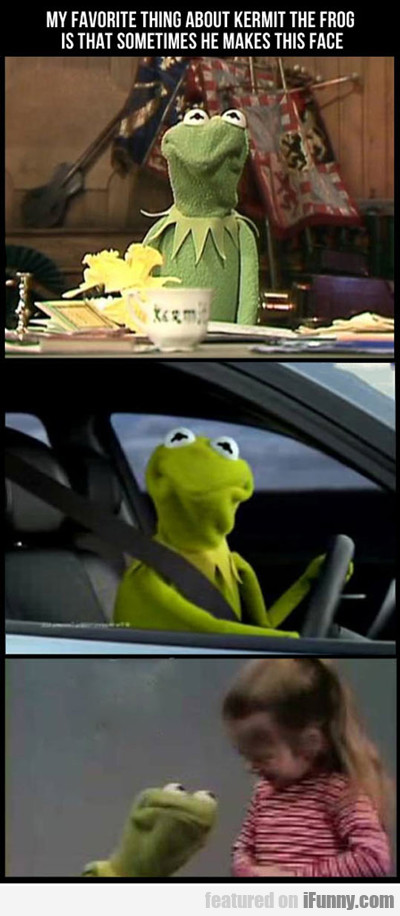 my favourite thing about kermit is...