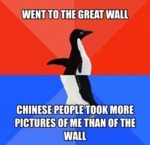 Went To The Great Wall...