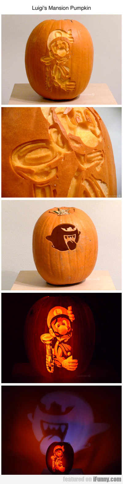 Luigi's Mansion Pumpkin...