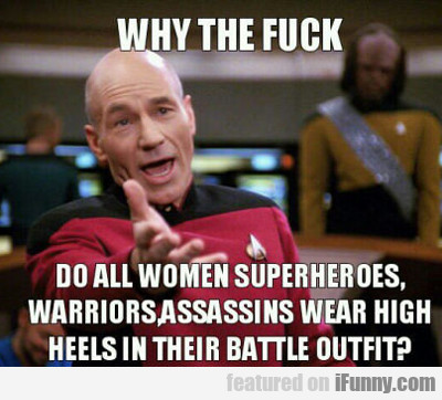 Why The Fuck Do All Women Superheroes...