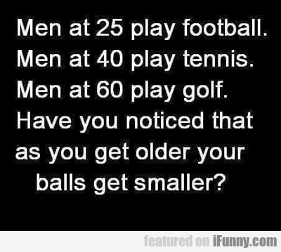 Men At 25 Play Football...