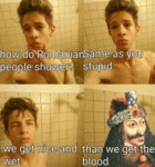 How Romanians Shower...