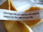 Marriage Lets You Enjoy One Special Person...