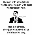 Women With Straight Hair...