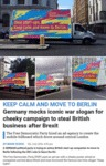 Keep Calm And Move To Berlin...