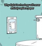 Why Digital Technology Will Never Replace Paper