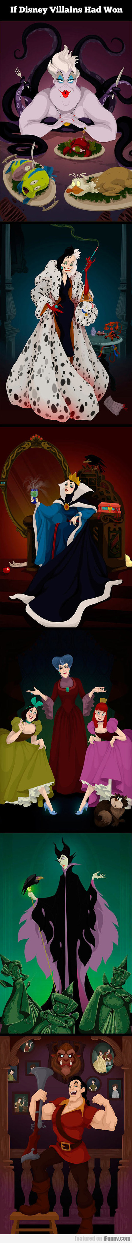 If Disney Villains Had Won...