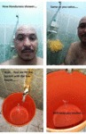How Hondurans Shower...
