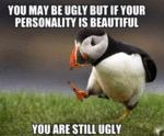 You May Be Ugly...