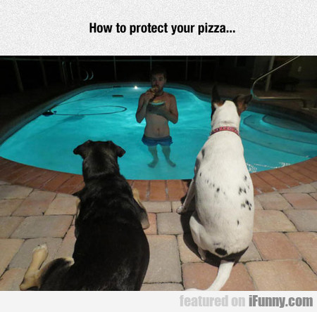 how to protect your pizza