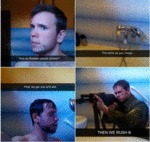 How Russians Shower....