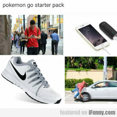 Pokemon Go Starter Pack...
