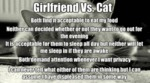 Girlfriend Vs Cat...