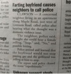 Farting Boyfriend Causes Neighbors To Call Cops...