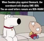 When Sweden Plays Against Denmark...