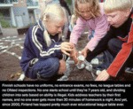 Finnish Schools Have No Uniform