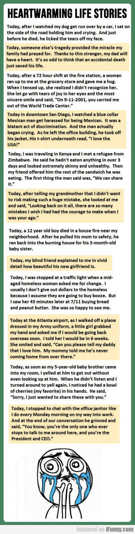 Heartwarming Life Stories