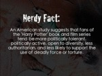 Nerdy Fact... A Study Suggests...