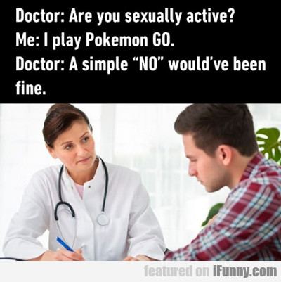 Are You Sexually Active?