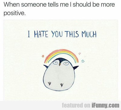 I Hate You This Much...