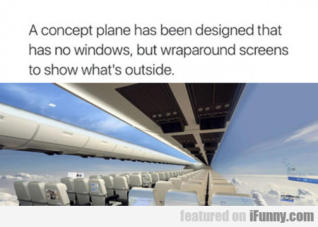 A Concept Plane Has Been Designed...