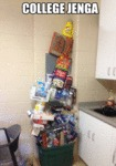 College Level Jenga...