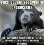 I Just $200 Worth Of Groceries...
