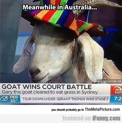 Meanwhile Is Australia...