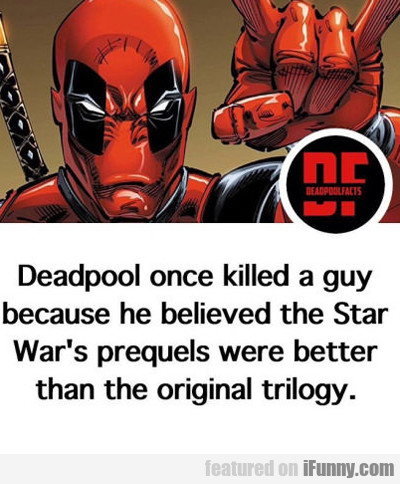 Deadpool Once Killed A Guy...