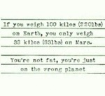 If You Weigh 110 Kilos...