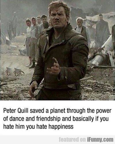 Peter Quill Saved A Planet...