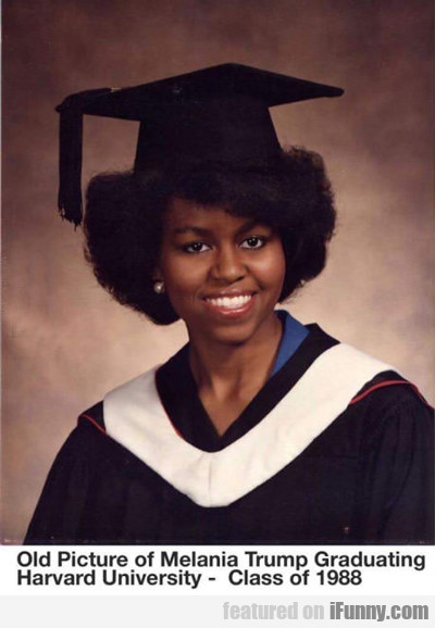 Melania Trump Grad Photo...