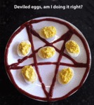 Deviled Eggs, Am I Doing This Right?