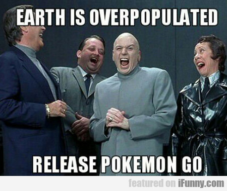 earth is over populated...