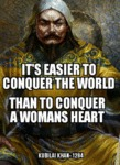 It's Easier To Conquer The World...