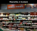 Ready Meals In Scotland...
