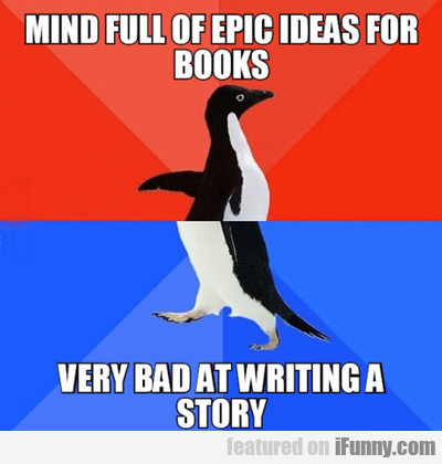 Mind Full Of Epic Ideas For Books...
