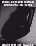 What If You Waled In A Room And Saw This...