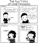 The Two Types Of Wine Drinkers