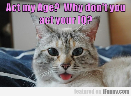 Act My Age?