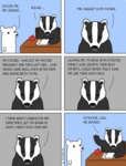 Excuse Me, Mr. Badger!