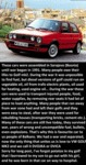 These Cars Were Assembled In Sarajevo...