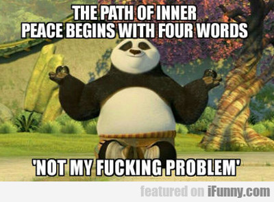 The Path Of Inner Peace Begins...
