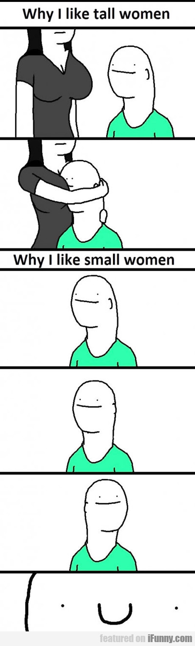 Why I Like Tall Women...