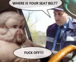 Where's Your Seatbelt...
