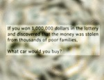 If You Won 1 Million Dollars...
