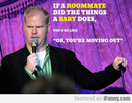 If A Roommate Did The Things..