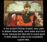 In The Ancient Persian Empire...