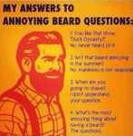 My Answers To My Annoying Beard Questions...