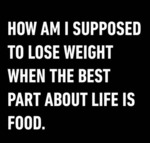 How Am I Supposed To Lose Weight?